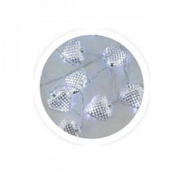 Guirnalda LED de Corazones...