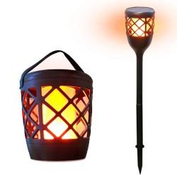 Lámpara + Estaca efecto...