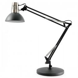 Lámpara Flexo Mursi E27 Negro