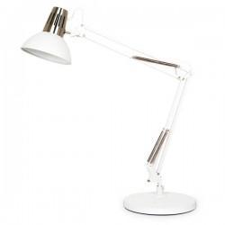 Lámpara Flexo Mursi E27 Blanco