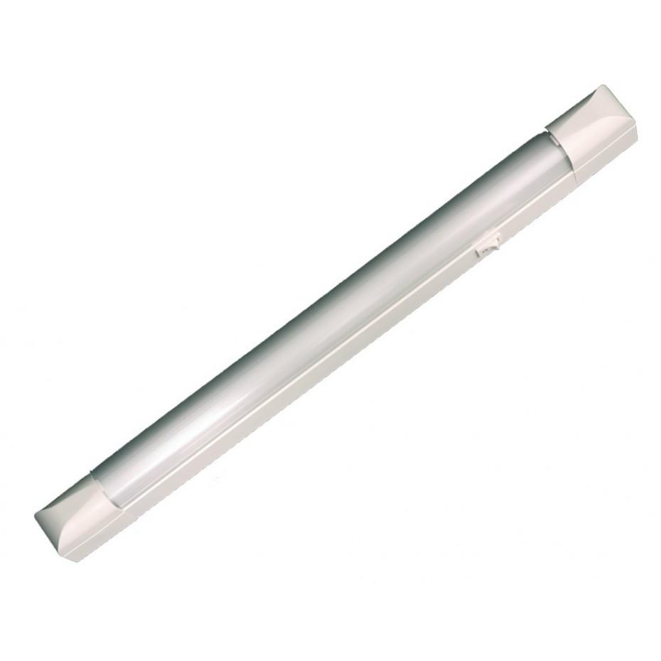 Regleta electrónica 36 W 1279 mm T8 - 1 fluorescente