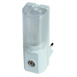 Luz de noche con célula fotoelectrica que se enciende y se apaga automaticamente según la luz ambiental. 7W, 259V,