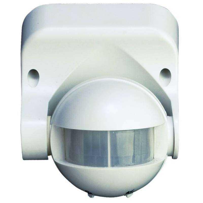 Detector de movimiento de pared negro - Detector de movimiento ...