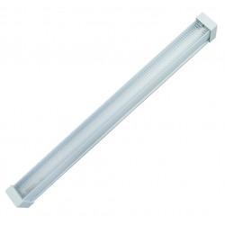 Pantalla luminosa tipo panal para 1 tubo fluorescente tipo T8, 1x18W.